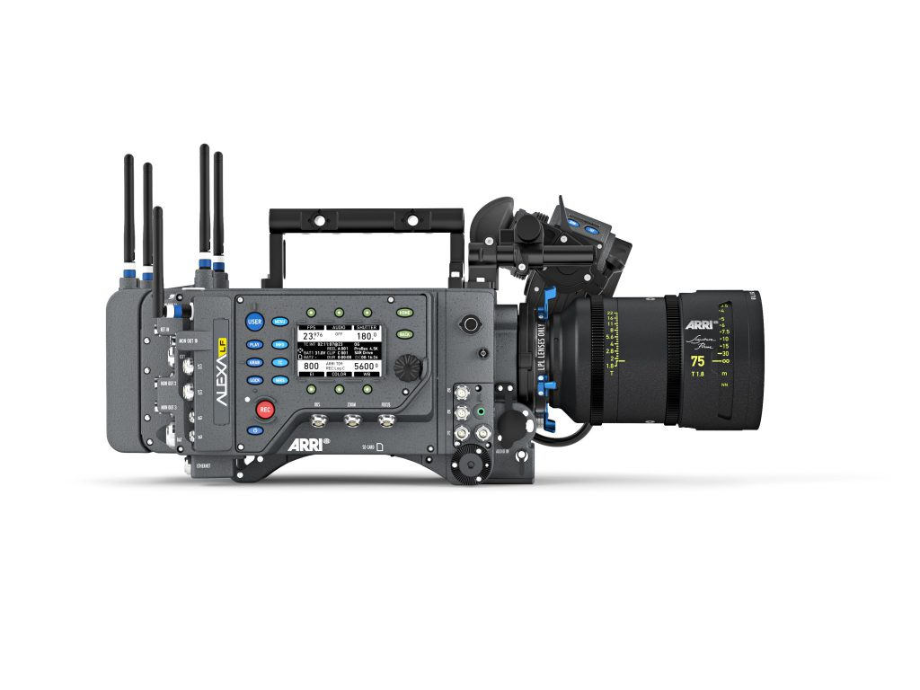 ARRI CR 2018 - ALEXA LF - SP 75 - white - right